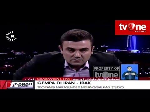 Diguncang Gempa, Narasumber ini Panik dan Kabur saat Dialog di TV