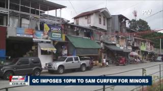 quezon city imposes 10pm to 5am curfew for minors
