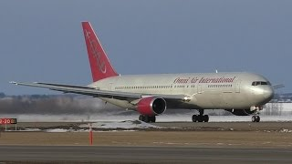 Omni Air International (WestJet) 767-328ER [N342AX] Takeoff from Edmonton Airport ᴴᴰ