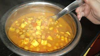 छोले पनीर सिर्फ पाँच मिनट में होटल  जैसे छोले पनीरRestaurant style Chole Paneer