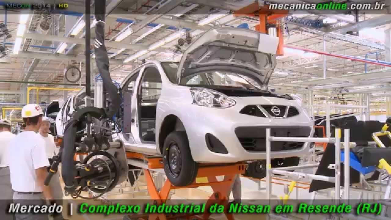 b6b9b940f Nissan inaugura complexo Industrial em Resende (RJ) - YouTube