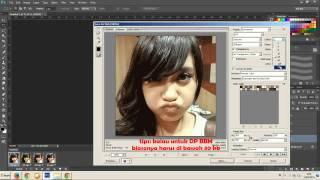 Cara Membuat DP BBM Bergerak Di Photoshop