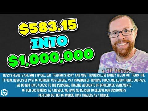 $1 Million Dollar Challenge Complete! | Ross's Trade Recap