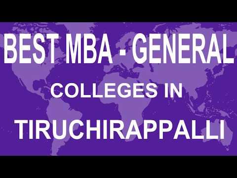best-mba-general-colleges-in-tiruchirappalli