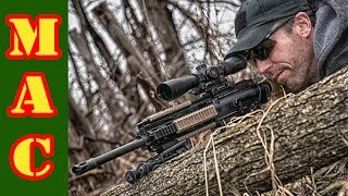 H&K MR 762 A1 LRP Precision Rifle - First Shots