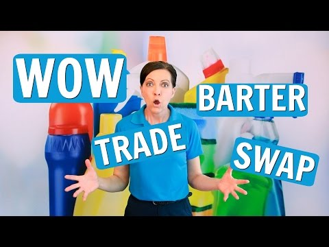 Barter - Should House Cleaners Barter, Swap and Trade? ⭐⭐⭐⭐⭐