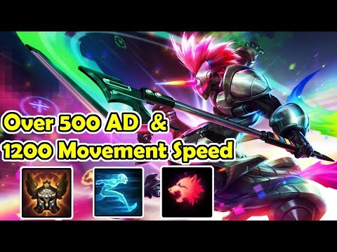 Hecarim on Speed!!! | More than 1200 MS an 500 AD???
