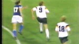 Argentina 0 vs West Germany 1 final world cup Italy 90
