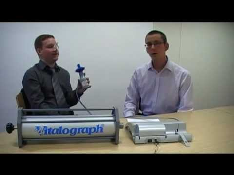 how to use a vitalograph spirometr