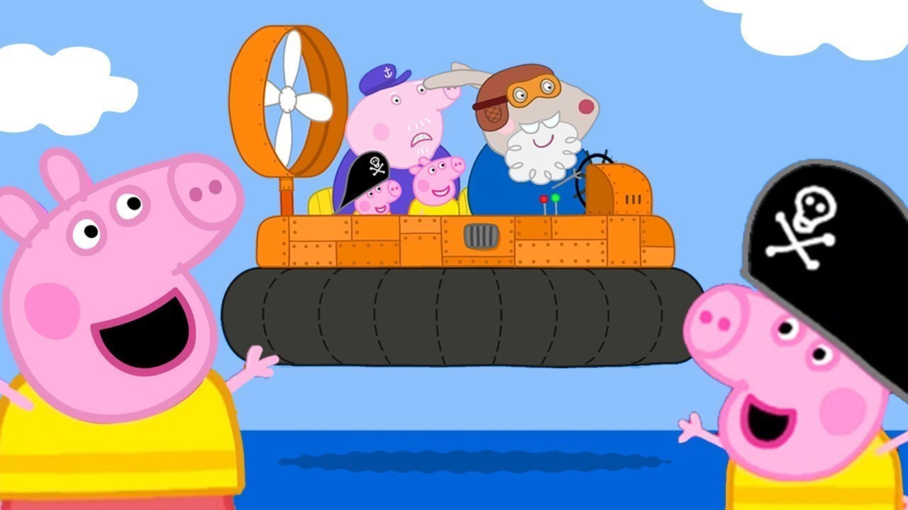Peppa Pig English Episodes | Peppa Pig's Day Out on Grampy ...