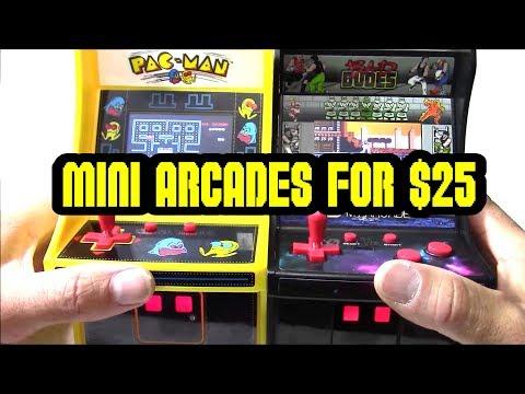 Quick Look At My Arcade Mini Pac Man & Bad Dudes For $25 At Walmart