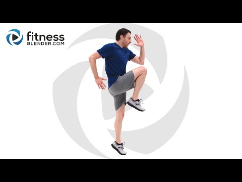 Intense at Home HIIT Routine No Equipment HIIT Workout Video (With Low Impact Modifications)