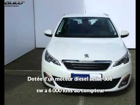 peugeot 308 sw occasion visible toulouse pr sent e par sial peugeot toulouse youtube. Black Bedroom Furniture Sets. Home Design Ideas
