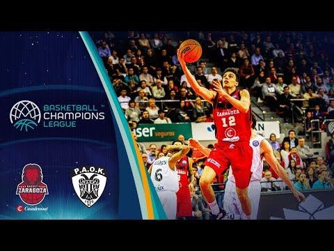 Casademont Zaragoza V Paok – Highlights – Basketball Champions League 2019-20