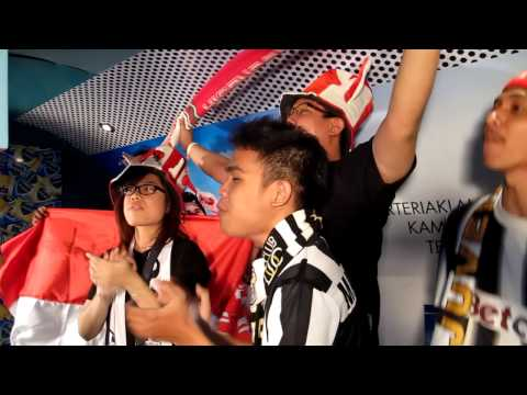 Chants for Juventus & Indonesia in Sports Race 2012