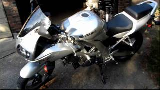 2003 Suzuki SV650S 650CC V-twin 6 Speed Sport Bike Unboxing & First Look Linus Tech Tips