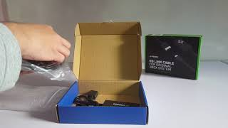 HD-Link cables for Dreamcast, Xbox & PS2 unboxing (Pound Technology)