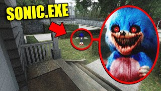 If You See SONIC.EXE Outside Your House, RUN AWAY FAST!! (Scary)