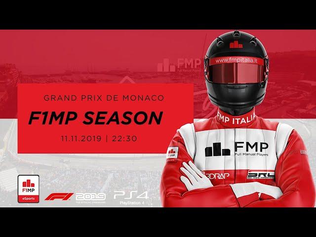 F1MP | OPENING SEASON #6 | MONACO GRAND PRIX FMP ITALIA