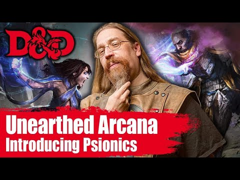 The Mystic- Adding Psionics to 5E D&D| Unearthed Arcana Revi
