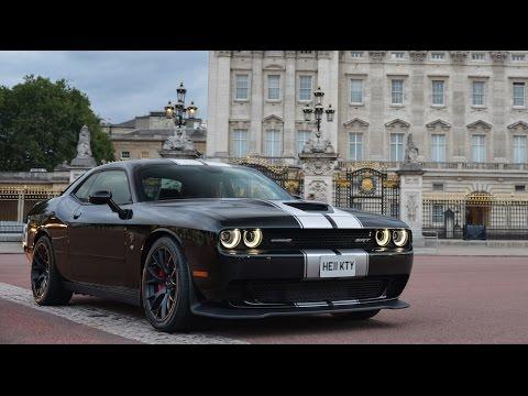 Dodge challenger hellcat video