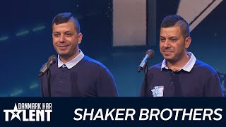 Shaker Brothers - Danmark har talent - Audition 4