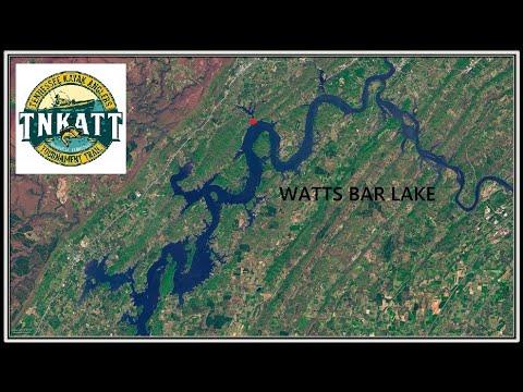 KAYAK BASS FISHING TOURNAMENT ON WATTS BAR LAKE