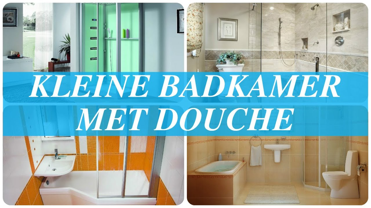 Kosten Badkamer Bouwen ~ Kleine badkamer met douche  YouTube