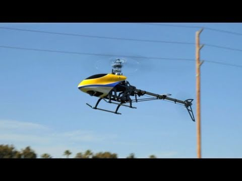 BlueRay 450 PE 3D Brushless RC Helicopter  Flight Review