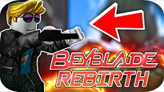 ROBLOX BEYBLADE!! || Beyblade Rebirth Roblox Gameplay Part 1