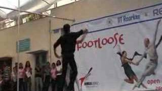 winner of duet dance in iit-roorkee 07