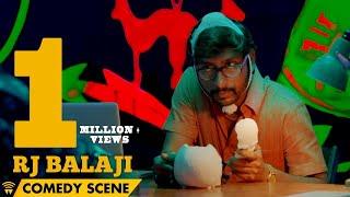 Naanum Rowdy Dhaan - RJ Balaji Comedy Scene | Vijay Sethupathi, Nayanthara, Vignesh Shivan
