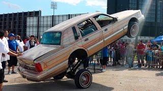 Экстрим авто лоурайдеров 2016(Экстремальное видео автошоу танцующих автомобилей под управлением лоурайдеров с использованием модифици..., 2016-07-15T15:35:32.000Z)