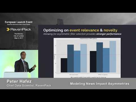 Modeling News Impact Asymmetries - Peter Hafez, Chief Data Scientist, RavenPack