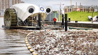 Mr. Trash Wheel gobbles garbage all the live-long day