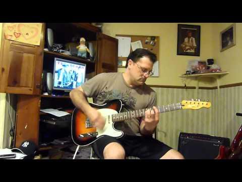The Clash - Train In Vain - guitar cover