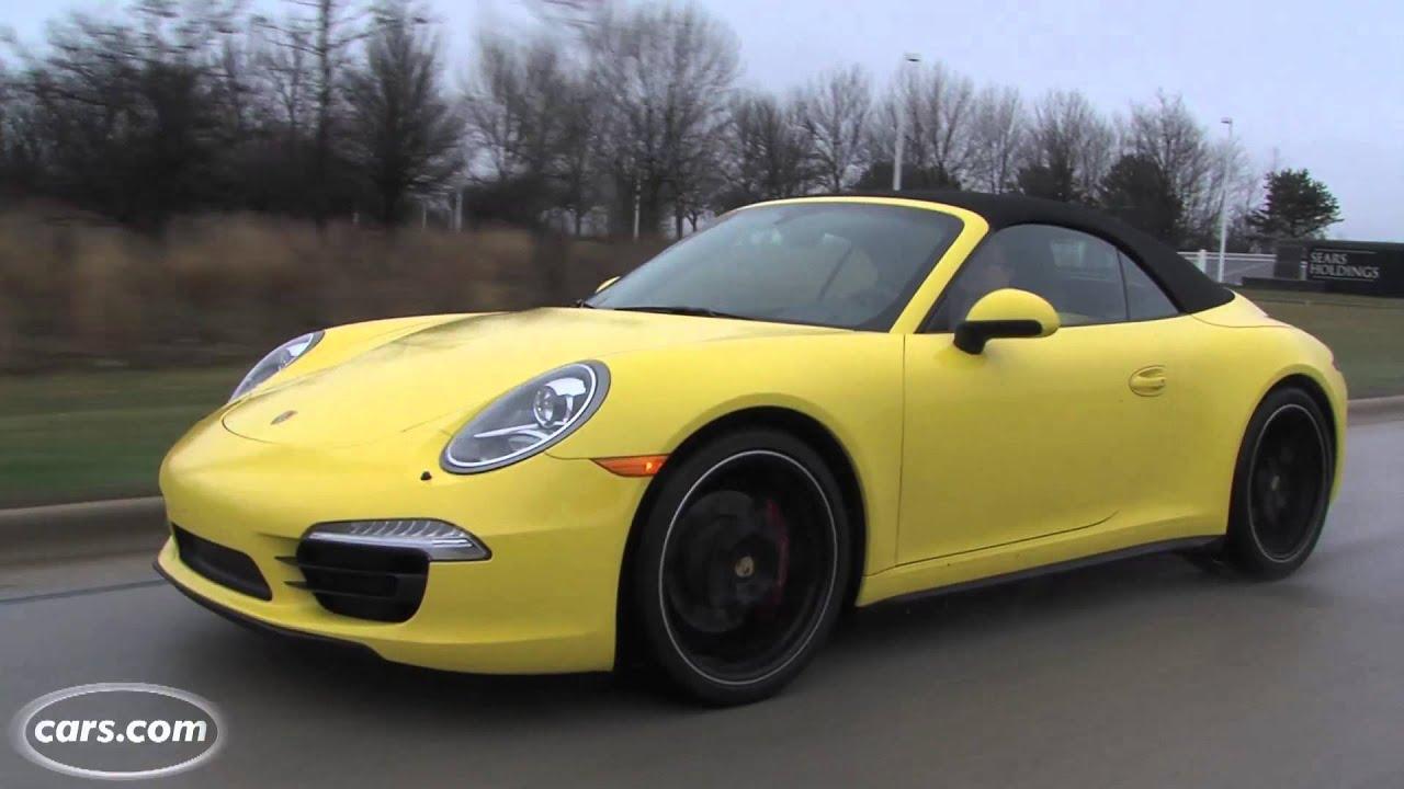 2013 Porsche 911 Carrera 4s Cabriolet Youtube