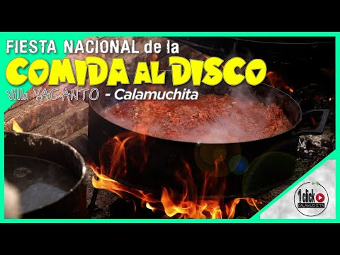 10° FIESTA Nacional De La COMIDA Al DISCO De ARADO - Villa Yacanto