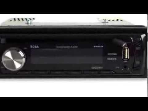 Boss Audio MP3/CD Player In-Dash Receiver   648UA