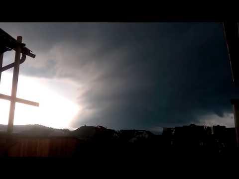 Ураган между Украина и Румыния