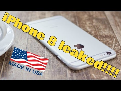 Developing: The iPhone 8 could be Made in America!!!!