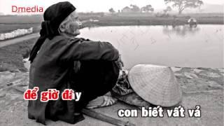 Nhớ gia đình [ karaoke ] beat - Lê Bảo Bình