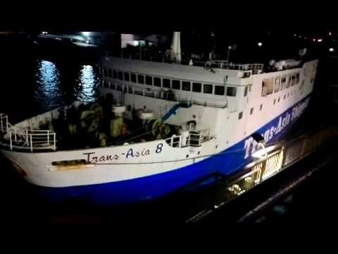 Trans - Asia 3 Doing Docking Manuever at Cebu Port.
