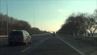 A12 Hoofdrijbaan rechts toerit Nieuwerbrug - afrit Woerden