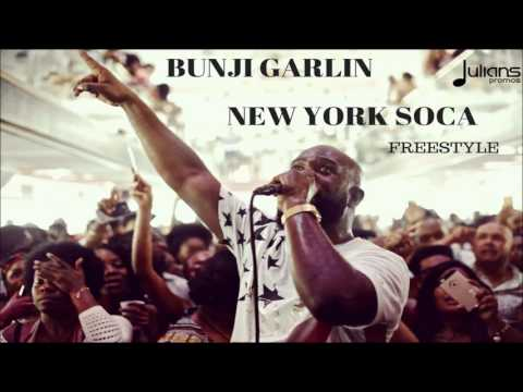 Bunji Garlin - New York Soca Freestyle (Explicit)