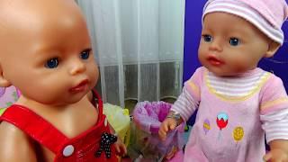 Кукла Беби Бон МАКС ВЛЮБИЛСЯ! Куклы Маша и Таня СПОРЯТ КТО КРАСИВЕЕ. Новая серия про кукол Беби Борн