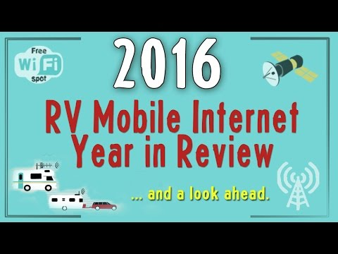 2016 RV Mobile Internet Year in Review and Looks Forward into 2017