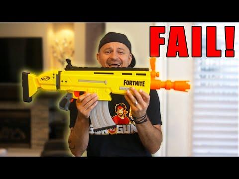 NERF Fortnite Scar SUCKS! Here's Why...