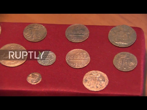 Russia: 16thC coins discovered in Moscow found stowed away in ivory chess piece
