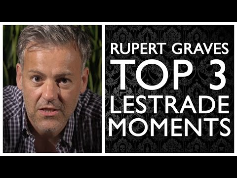 Rupert Graves's Top 3 Lestrade Moments  Sherlock  BBC